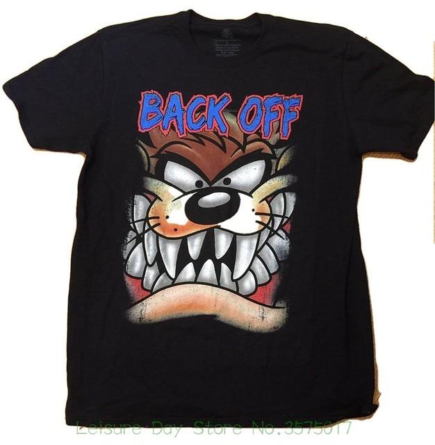 f3acb3ea T Shirt Men Funny Tee Shirts Short Sleeve Looney Tunes Tasmanian Devil Taz  Face Back Men's Graphic Tee
