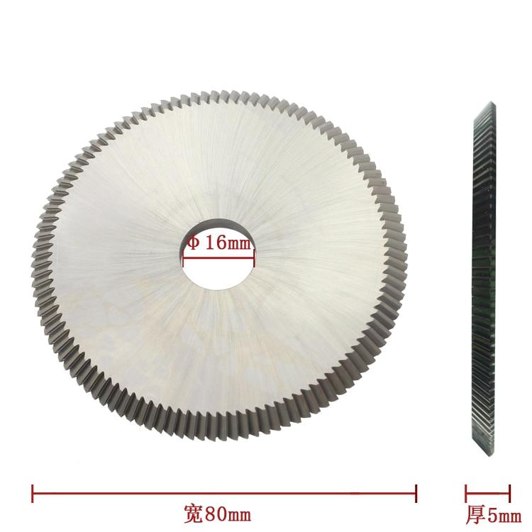 P526 HSS RAISE Key Cutting Machine Circular Saw Blade 80 5 16mm 110T 40 Degree WENXING