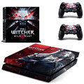Vinly Sticker The Witcher 3 Wild Hunt Sticker For Sony Playstation 4 Console Protection Film and Cover Decals Of 2 Controller
