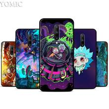 Rick and Morty Silicone Case for Oneplus 7 7Pro 5T 6 6T Black Soft Case for Oneplus 7 7 Pro TPU Phone Cover