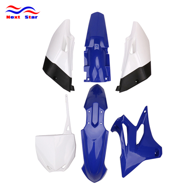 $ US $64.55 Motorcycle Complete Body Plastics Kits Fender Number Plate Fairings For Yamaha YZ85 YZ 85 2015 2016 2017 2018 Aoto Dirt Bike