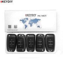 5 pcs, KEYDIY 오리지널 KD900/KD X2 키 프로그래머 NB25 범용 다기능 KD 미니 리모트 모든 B 및 NB 시리즈에 적합