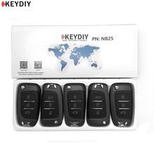 5pcs,KEYDIY Original KD900/KD X2 Key Programmer NB25 Universal Multi functional KD MINI Remote Suitable For All B And NB Series
