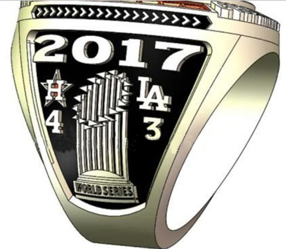 Drop Verschiffen Für Houston Astros 2017 World Series Championship Ring
