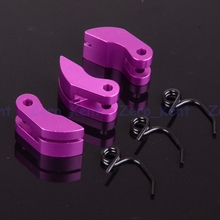081008 Purple Alum Alloy 3 Shoe Clutch & Spring Upgraded RC HSP For 1:8 Car Truck