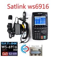 Satfinder Dvb S2 Satlink WS 6916 DVB S2 Satellite Finder Satellite Meter MPEG 2 MPEG 4