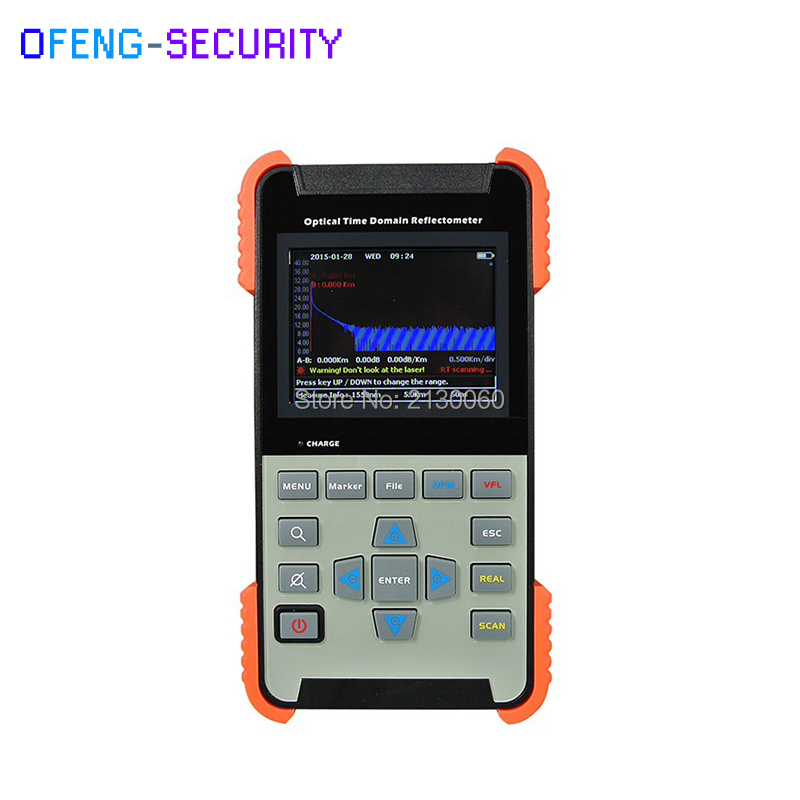 AOR-500S Singlemode 1310/1550nm 24/22dB Optical Time Domain Reflectometer Fiber Optic OTDR