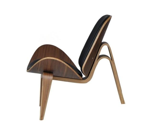 Aliexpresscom Buy Hans Wegner Style Three Legged Shell Chair