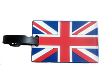 1 pcs US Baggage name card Travel UK Country Flag Luggage Tag Suitcase tags