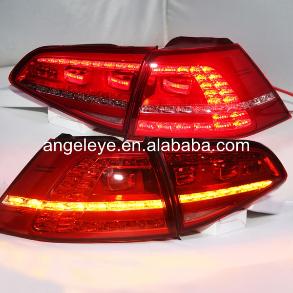 For Volkswagen Golf 7 Rear light LED Tail Lights 2013-2014 year Red color TC ...