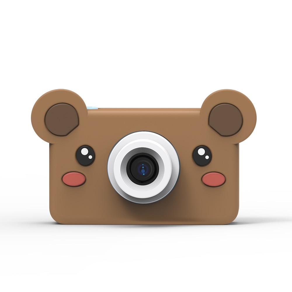 Jouet caméras 8MP bande dessinée caméra HD vidéo Mini caméra caméscope pour enfant bébé cadeaux 2.2 pouces numérique vidéo créative bricolage 8GB mémoire