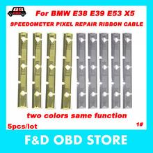 Dla BMW E38 E39 E53 X5 prędkościomierz pikseli naprawy taśmy wstążki deska rozdzielcza samochodu martwy piksel narzędzie LCD klastra piksel naprawa dla BMW 5 sztuk tanie tanio 0 03kg 1inch For BMW E38 E39 E53 X5 SPEEDOMETER PIXEL REPAIR RIBBON CABLE latest plastic Kable diagnostyczne samochodu i złącza