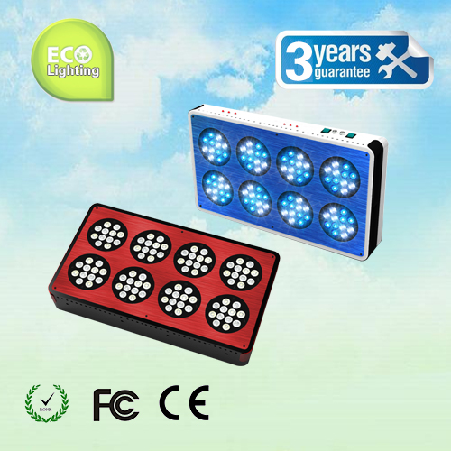 Apollo 8 96*3W LED aquarium light White: Blue=1:1 full spectrum reef coral tank light, White 12000k &Blue 460nm (Customizable) freeshipping high quality 50w cree xte led xt e white 6pcs royal blue 4pcs led light lamp for coral tank tank aquarium