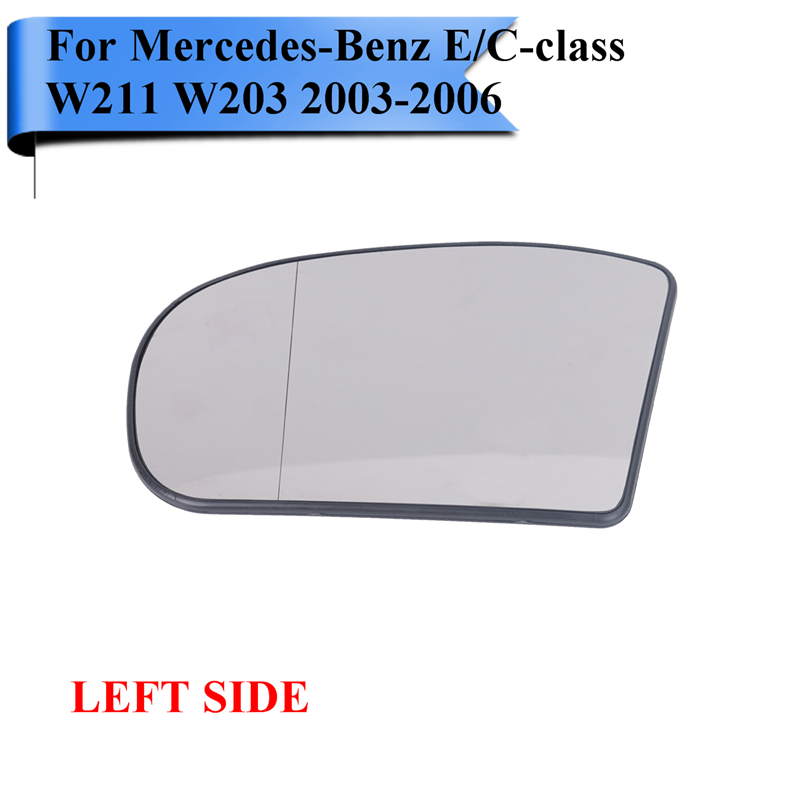 Drivers Side Mirror Glass w Signal Heat Wire Plug and Backing Mount 2003-2006