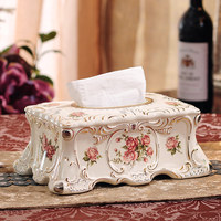 Européenne mode salon décoration en céramique boîte boîte boîte de cadeau de mariage