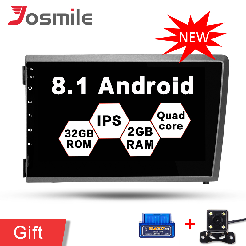 Quad Core Android 8 1 Car Radio Audio video GPS Navi font b Player b font