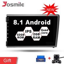 4 ядра Android 8,1 автомобиль радио, аудио и видео DVD плеер с JPS и навигацией для Volvo S60 V70 XC70 мультимедийное головное устройство DVD ips Wi-Fi OBD