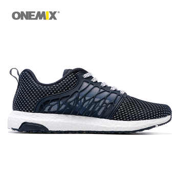 ONEMIX Men Running Shoes For Women Summer Mesh Breathable Athletic Trainers Sport Jogging Super Light Outdoor Walking Sneakers