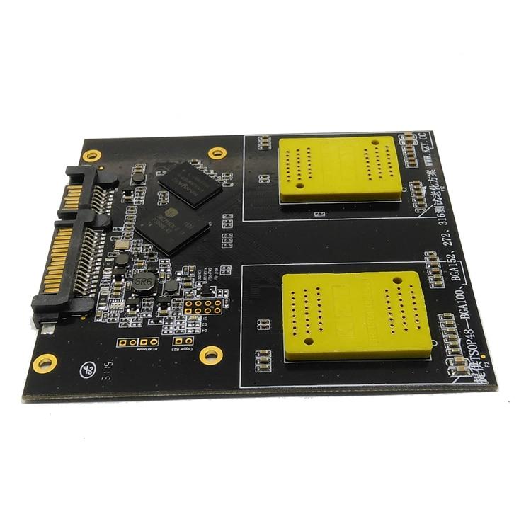 SSD 2 in 1 Multiple Function Test Board BGA152/132/100/88 TSOP48 NAND Flash Test Circuit SM2246EN Controller Flash Memory ms 9665 ver 1 1 server board 771 dual board 100% test good quality