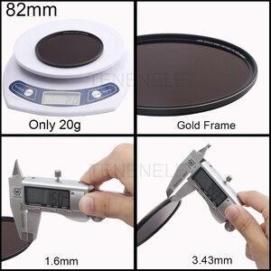 Image 5 - Универсальные стеклянные фильтры для фотокамеры 67 72 77 82 мм нейтральной плотности ND 1000 для Nikon Sony Fuji Canon eos