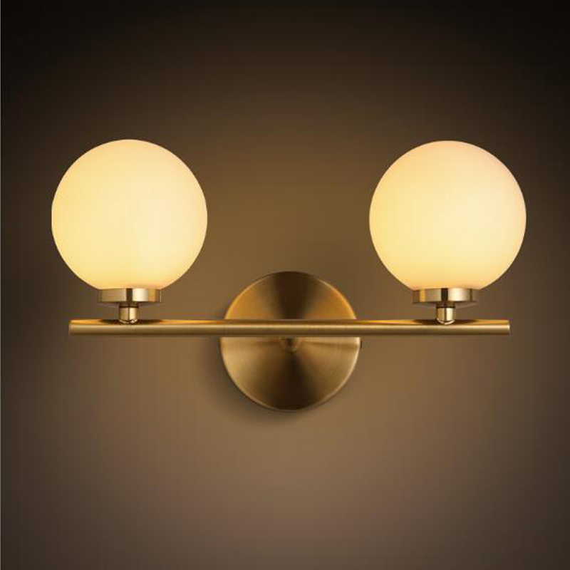Moderne Bulle Led Mur Lampes Creative Led Wall Light Fer
