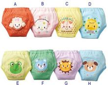 Hot Selling 4pcs/lot 4 layers Baby Nappies for Boy Girl Underwears Briefs Infant Diapers Waterproof Training Pants