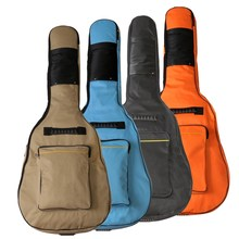 4 Colors 40 inch / 41 inch Oxford Cloth Double Adjustable Strap Guitar Bag Backpack for Electric Acoustic Bass Guitar