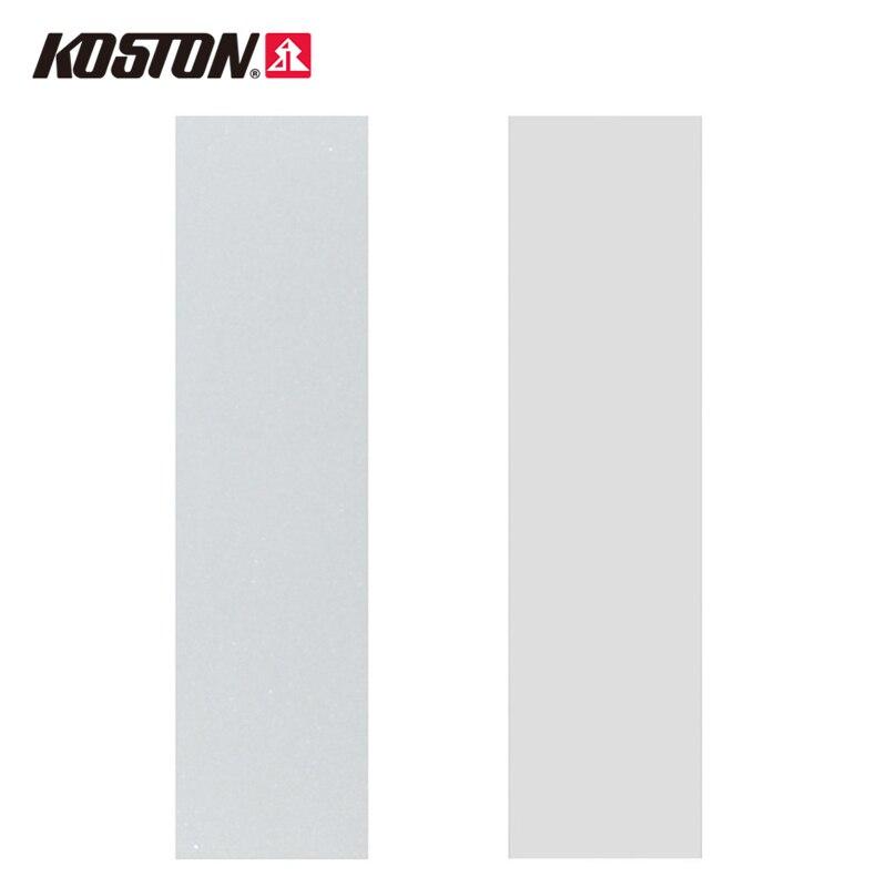 Koston transparente Longboard lija Cinta de agarre 45 x 10 Alta Calidad PVC transpirable Anti-fractura lija Patineta AC104