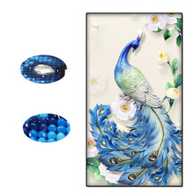 Peacock Diy, Diamond Mosaic, Painting, Home Decor Special Flower Embroidery, Full Dropshipping