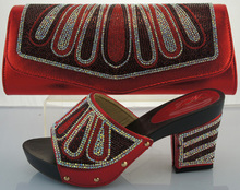 African Party Pumps Italian Shoes With Matching Bags High Quality Women Shoe And Bag Sets To Matching For Party ME2213