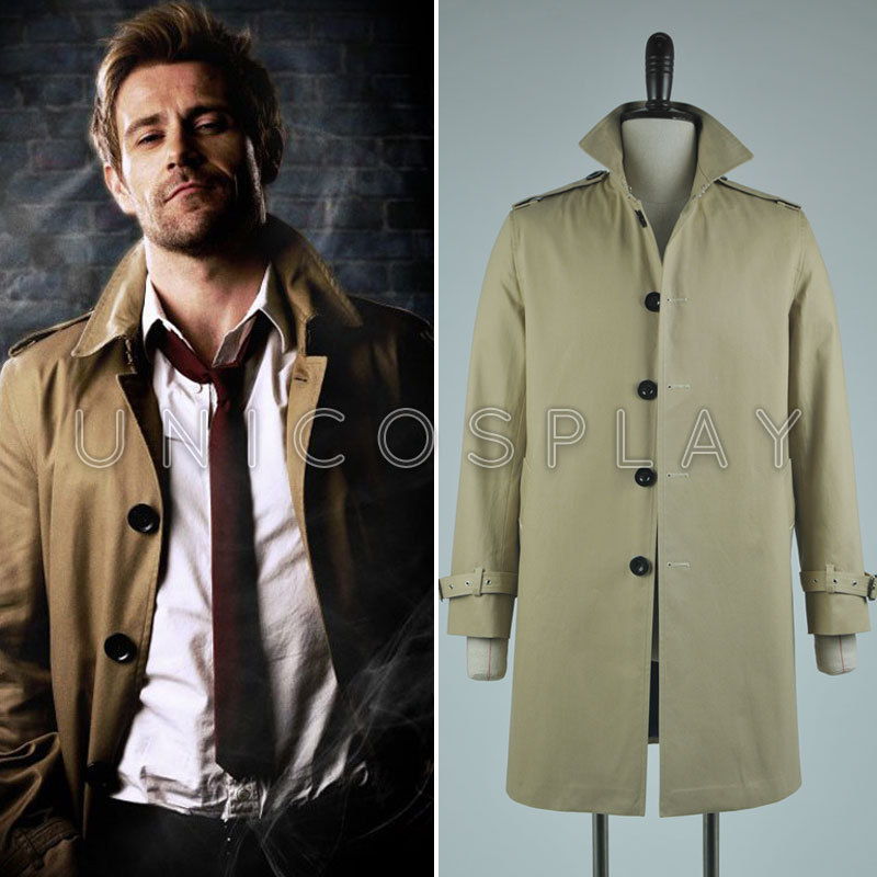 John Costantino Trench Coat Cosplay