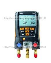 Testo 549 مقياس مشعب رقمي ، 2 صمامات ، نظام لـ HVAC 0560 0550