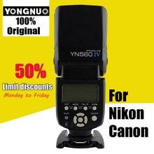YONGNUO YN-560 IV 2.4 г Беспроводной Вспышка Speedlite для Canon 6D 7D 60D 70D 5D2 5D3 700D 650D, YN-560 IV для Nikon D750 D800 D610 D90