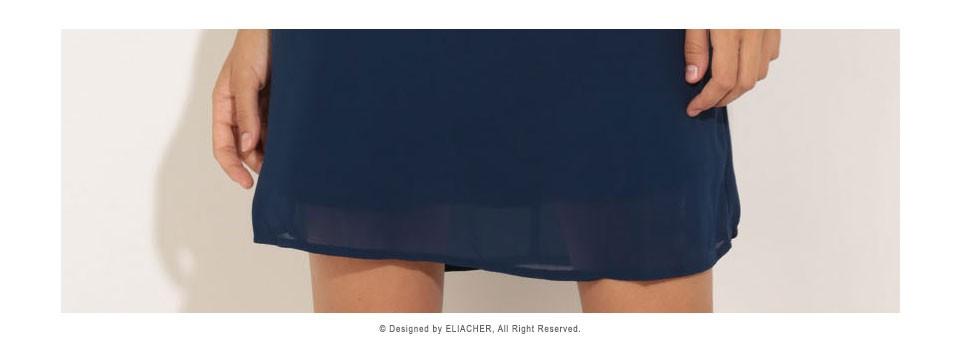 Women Chiffon Dress 17 Summer Dress Eliacher Brand Plus Size Chic sexy Sleeveless Evening Party Halter Shift Blue Dresses 9