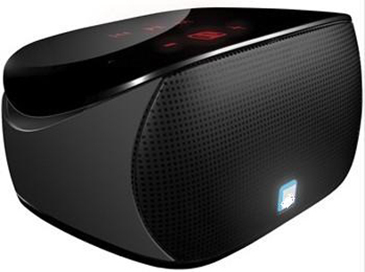 Myshine CPSDBT005 Black Mini Boombox Bluetooth Speaker for iPAD / iPhone / iPod