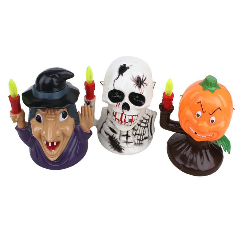 New Scared Halloween Props Glowing Ghosts Called Pumpkin Lights Portable Pumpkin Lights Witch Lights Halloween Party