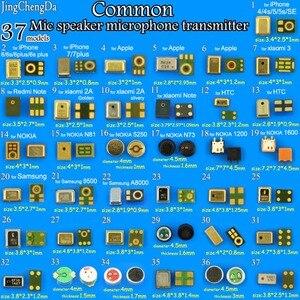 Image 1 - JingChengDa 37 modelle commom Lautsprecher Mikrofone Inneren MIC Ersatzteile Für iPhone für Xiaomi für Redmi für samsung für NOKIA