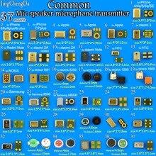 Jingchengda 37 modelos commom, microfone de alto falante, interna, peças de reparo para iphone, xiaomi, redmi, samsung, nokia