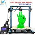 2017 Creality CR-10-plus Impresión de Gran Tamaño 400*400*400mm DIY Impresora 3D de Escritorio Varios Filamentos Con Calefacción cama Envío Libre