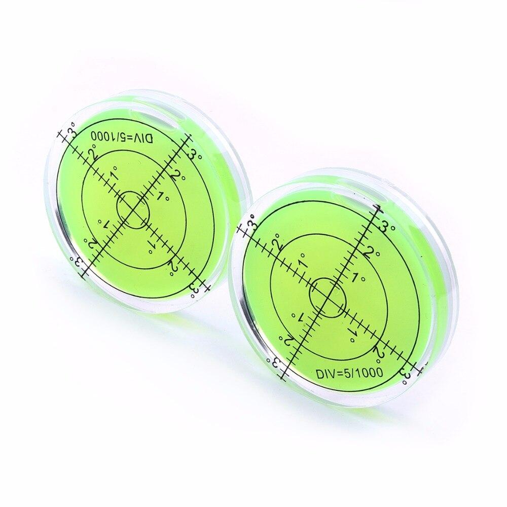 Univerzális zöld kör alakú buborék Bullseye vízszintes buborék - Mérőműszerek - Fénykép 5