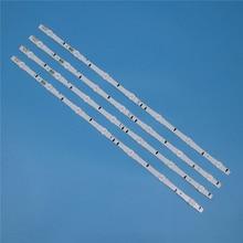 7 مصابيح LED الخلفية قطاع لسامسونج UE32H6410AK UE32H6415SU UE32H6470SS UE32H6475SU UE32H6500SB الحانات عدة التلفزيون LED الفرقة