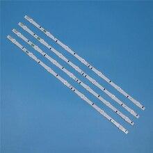 7 lampen Led hintergrundbeleuchtung Streifen Für Samsung UE32H6410AK UE32H6415SU UE32H6470SS UE32H6475SU UE32H6500SB Bars Kit Fernsehen FÜHRTE Band