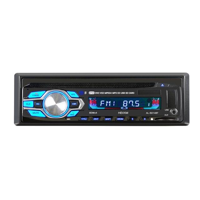 5014 1din 12 V voiture lecteur DVD voiture Audio CD Multi fonction véhicule lecteur DVD DVD VCD lecteur CD avec télécommande lecteur MP3