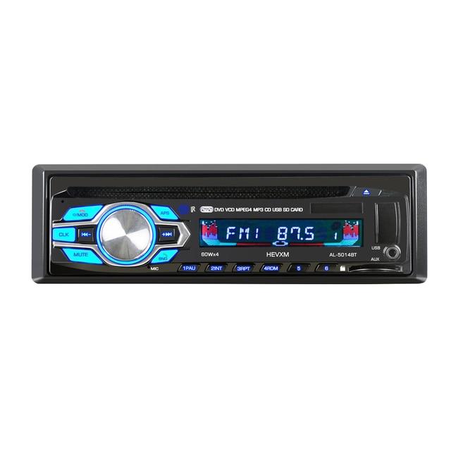 5014 1din 12V  Car DVD Player Car Audio CD Multi function vehicle DVD player  DVD VCD CD Player with Remote Control MP3 play