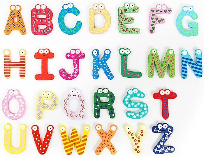 Refrigerator Alphabet Letter Sheet A Z