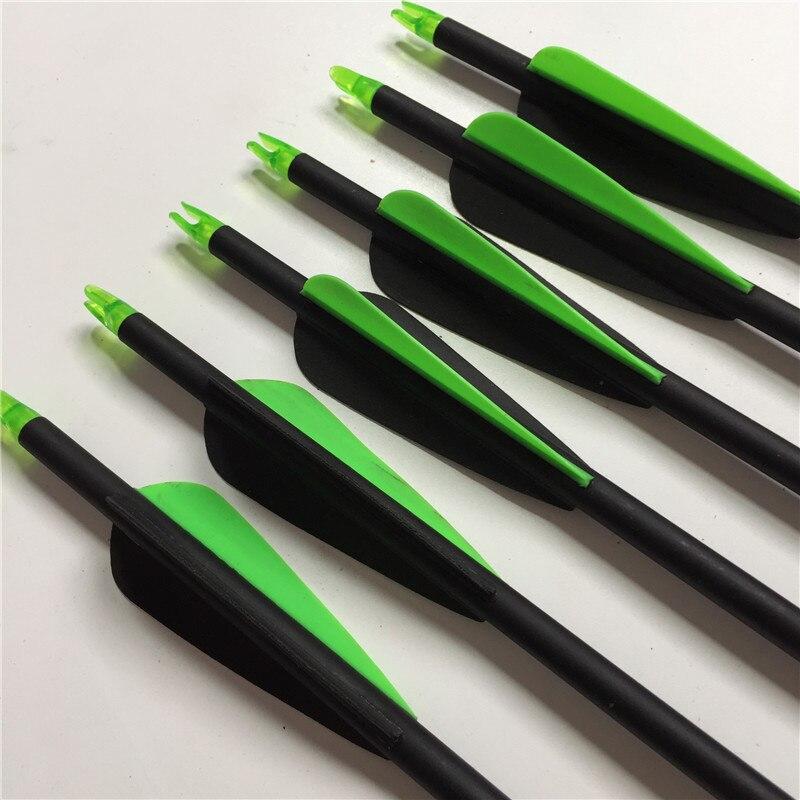 6pc Size 30 SP 750 Fiberglass font b Arrow b font 3 Shields Cut Plastic Blades