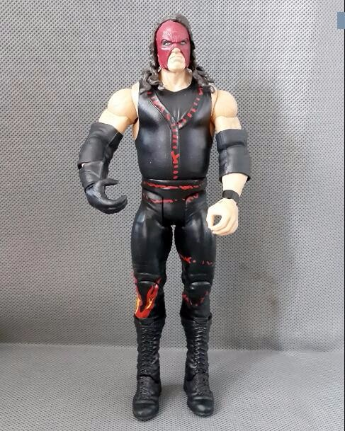 Limited! 16cm High Classic Toy occupation wrestling gladiators wrestler kane action figure Toys For Children Classic Gift