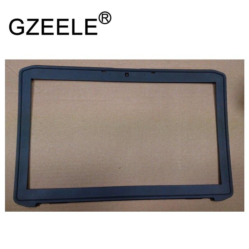 GZEELE laptop For Dell Latitude E5520 5520 15.6 LCD Front Trim Cover Bezel Plastic PHXJJ 0PHXJJ Black W/Webcom Port LCD case