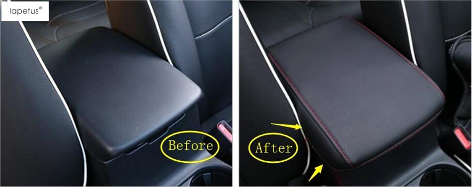 Lapetus Accessories For Mazda CX 5 CX5 2017 2018 Armrest Center Console Arm Rest Seat Box