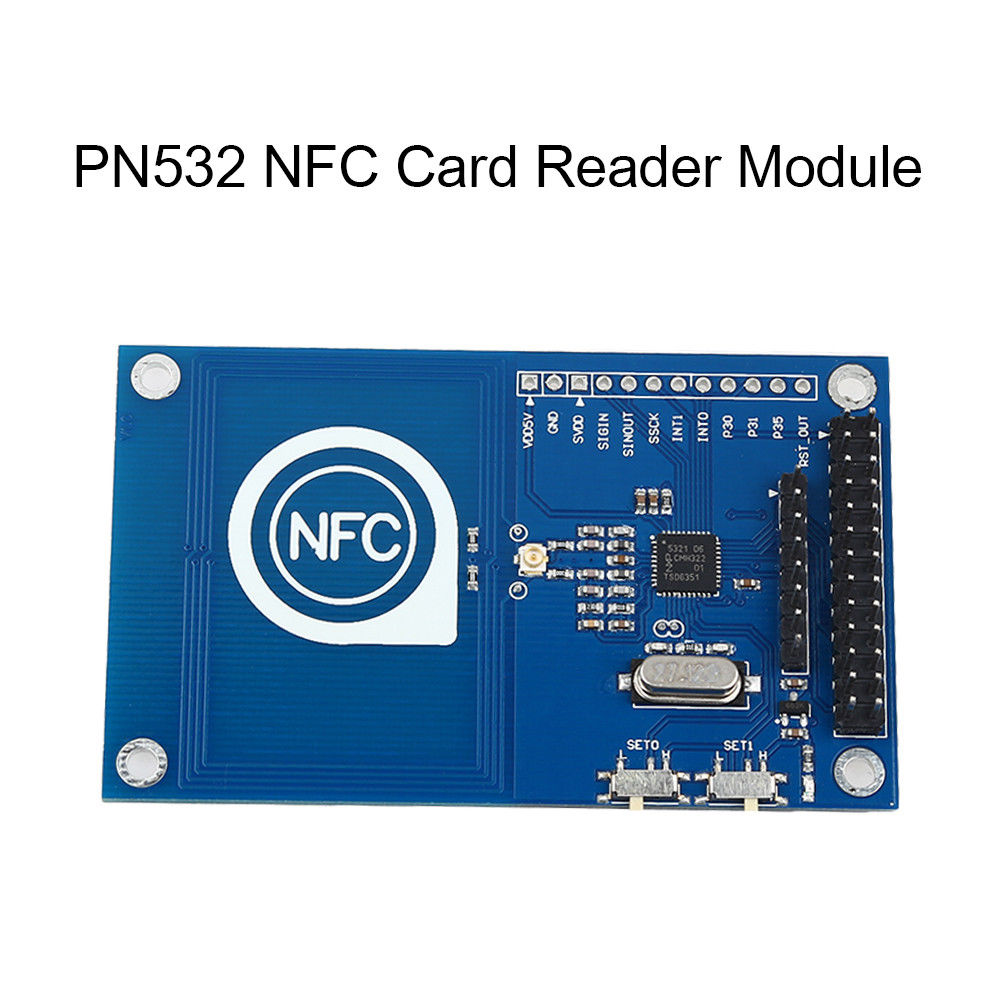 KEYES PN532 NFC точные RFID чтения карт ic модуль Малина для Arduino Аксессуары; Бесплатная доставка ...